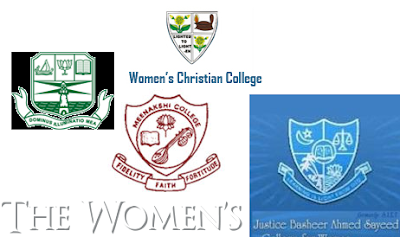 Women's Arts and Science Colleges in Chennai