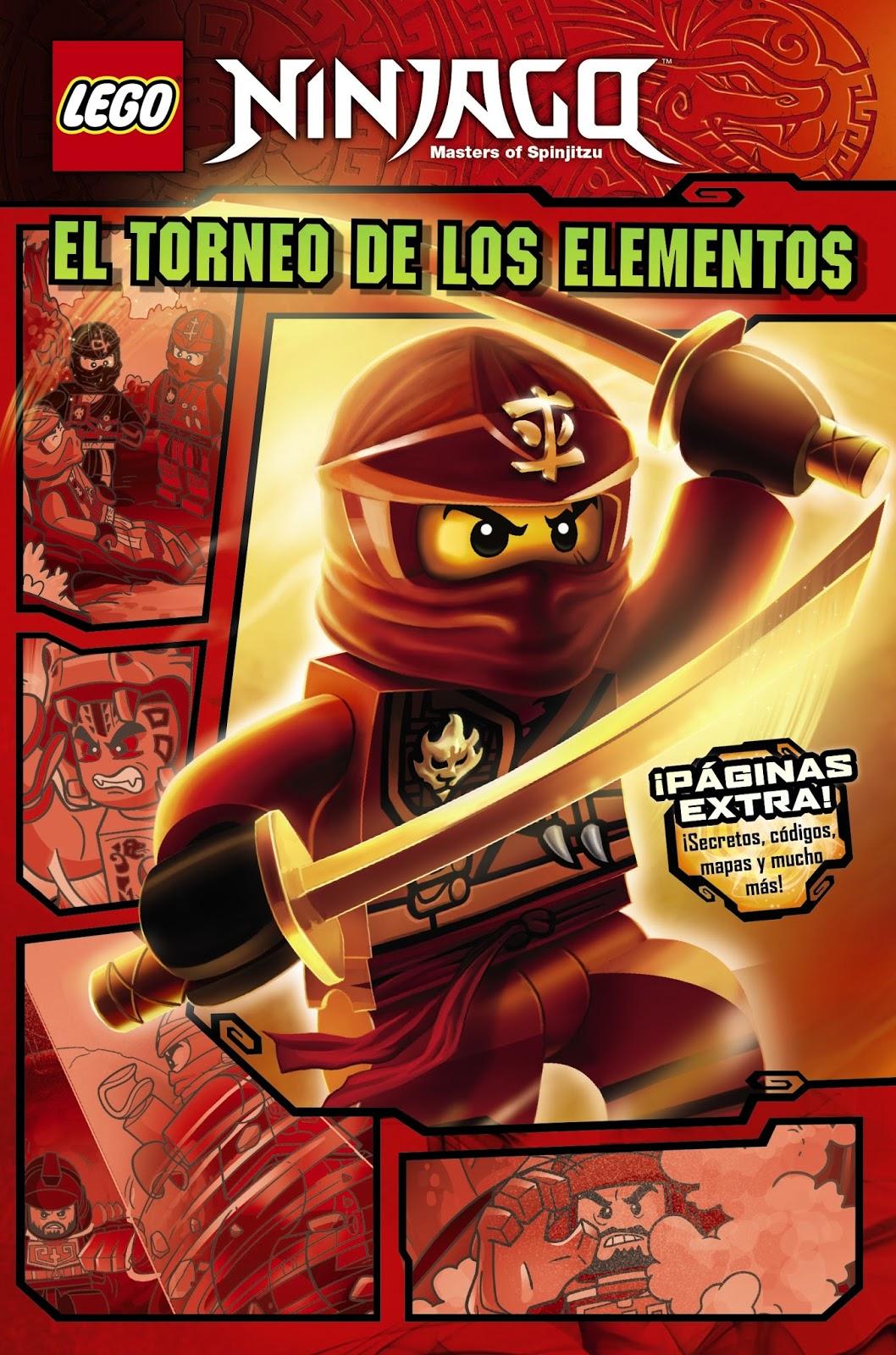 Un abrazo lector: Lego Ninjago. El torneo de los elementos de Blue ...