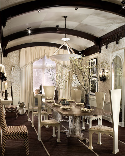 Decorating Contemporary Home Interior Design Ideas Modern: Braxton And Yancey: Tim Burton Inspired Home Décor In 3