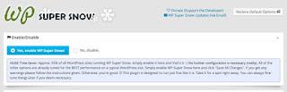 plugin com o efeito neve no wordpress