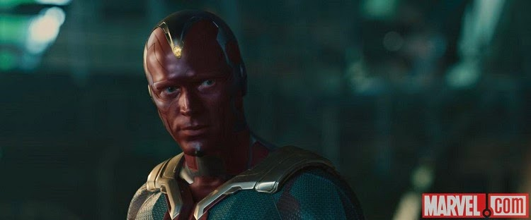 The Vision Avengers Age of Ultron Paul Bettany JARVIS