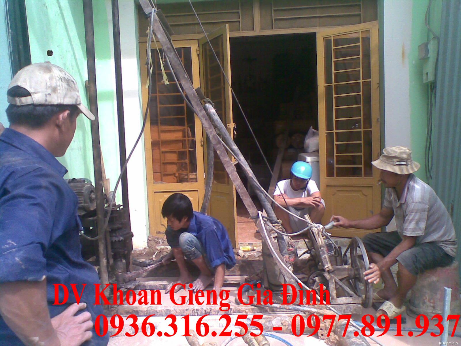 Khoan giếng gia đình tại huyện Mê Linh