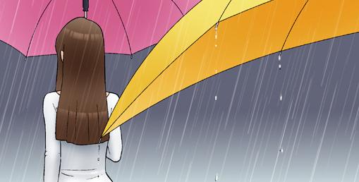 Kim Chi & Củ Cải (bộ mới) phần 196: Cây dù đặc biệt