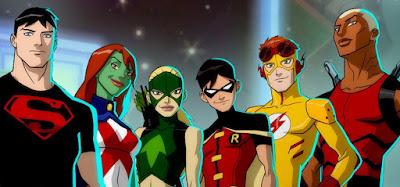 Sidekicks da DC justiça jovem titãs