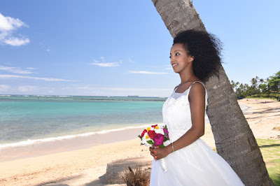 Ethiopia Bride in Honolulu