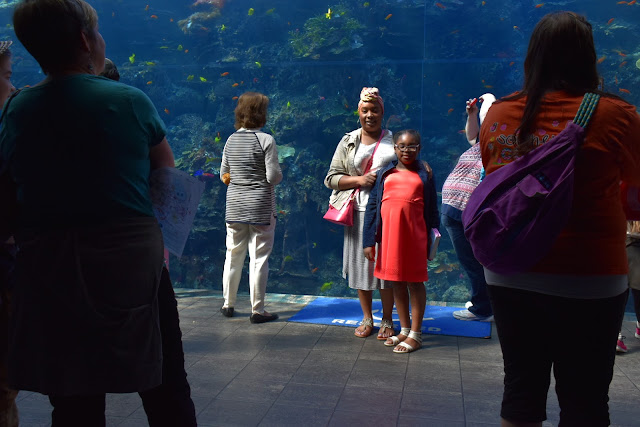 Georgia Aquarium 10th Year Celebration   via  www.productreviewmom.com