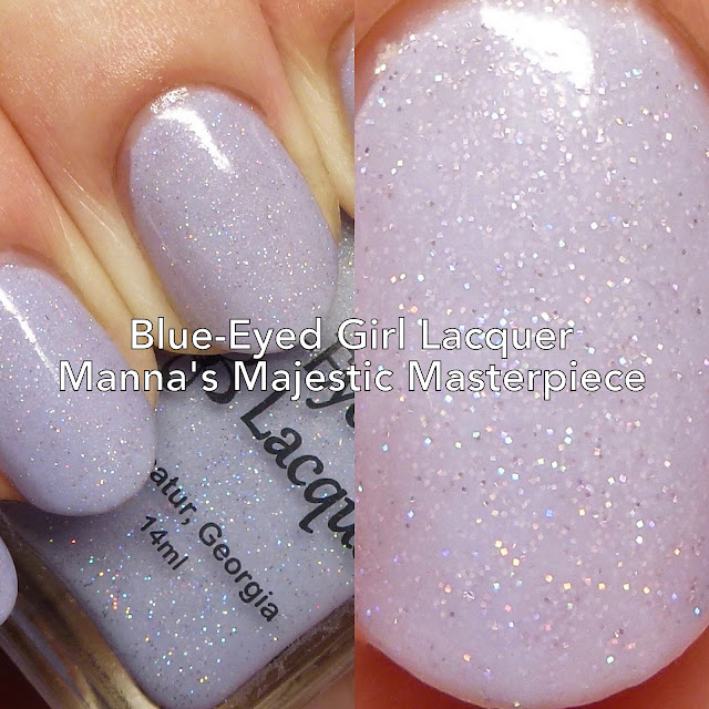 Blue-Eyed Girl Lacquer Manna's Majestic Masterpiece