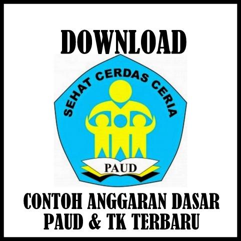 Download Contoh Anggaran Dasar PAUD & TK Sesuai JUKNIS Terbaru