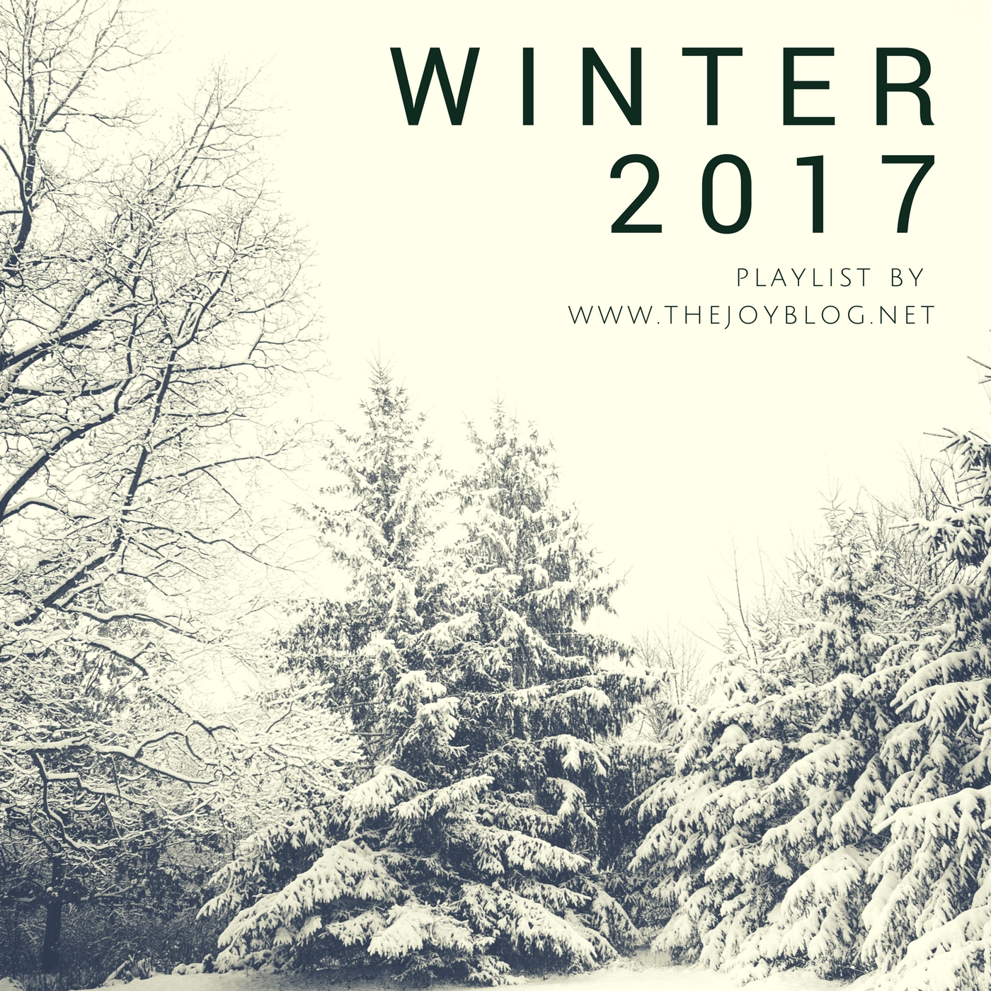 Winter 2017 Playlist // www.thejoyblog.net - a collection of music influenced by southern rock, oldies, country,  and bluegrass.