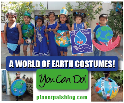 Recycled Costumes DIY