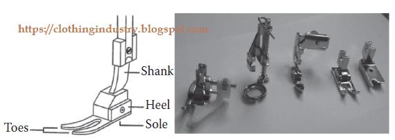 Presser foot sewing machine