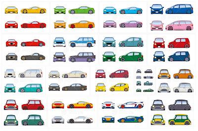 ローダウンカー、イラスト制作、イラストレーション、車、乗り物イラスト