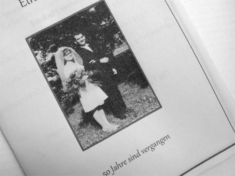 Steffi S Hochzeitsblog Goldene Hochzeit 50 Jahre Verheiratet