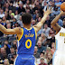 Pictures: Nuggets defeated the Warriors in the NBA