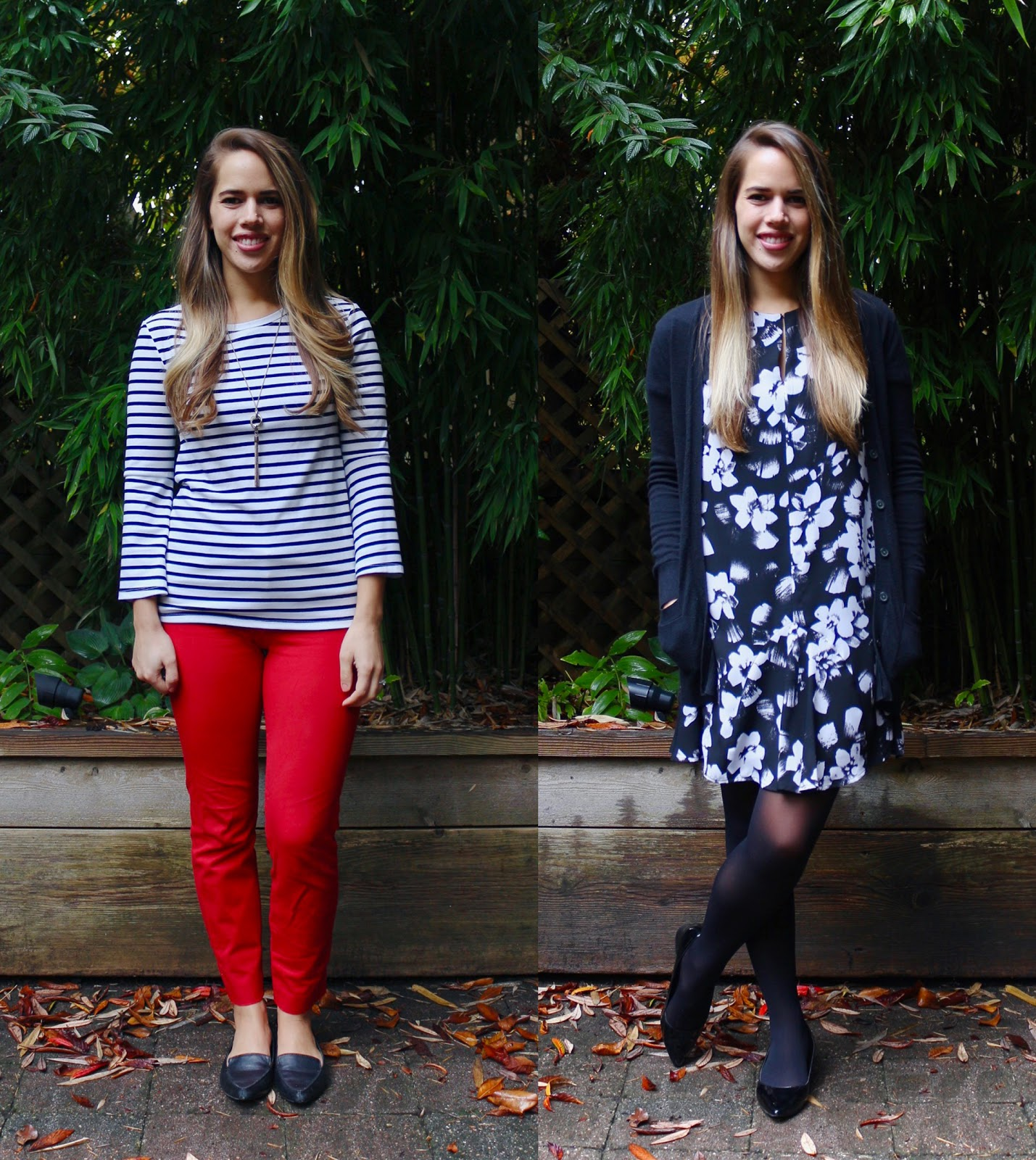 Jules in Flats - October Outfits (Business Casual Fall Workwear on a Budget)