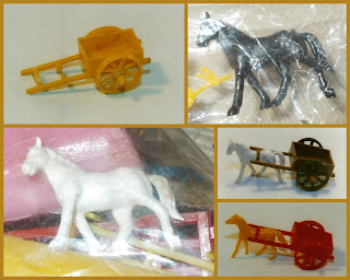 Cowboys; Einco; Hollow Horse Types; Hong Kong; Hong Kong Hollow Horses; Indian Village; Indians; Native American Toys; On Horses; P1; Plastic Cowboys & Indians; Plastic Toy American Natives; Plastic Toy Figures; Plastic Toys; Pony Type 1; Pony Type I; Pony Type One; Rado Industries; Ri-Toys; Small Scale; Small Scale World; smallscaleworld.blogspot.com; Toy Figures; Wild West; 11 Rado Ri-Toys Einco Indian Village Cowboys & Indians on Horses Plastic Toys 1 Einco Cart Horse and Cart