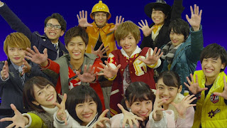 Shuriken Sentai Ninninger VS ToQGer The Movie: Ninja In Wonderland