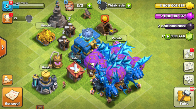 Download Clash Of Clans Mod Apk V1144624 Th 12 Unlimited All 2019