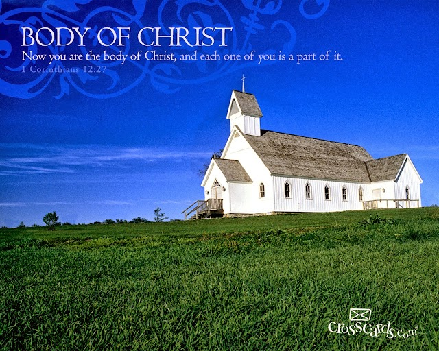 Body of Christ Wallpaper