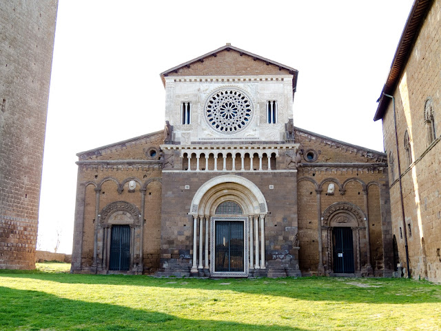 The Church of St. Peter in Tuscania