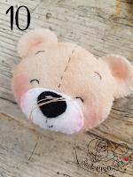 montaggio testa orso