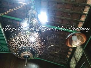 Lampu Hias Tembaga-pusat kerajinan tembaga dan kuningan - kerajinan lampu