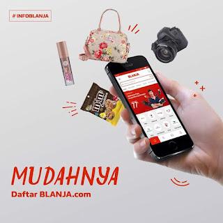 Aplikasi BLANJA.com UKM Asli Indonesia
