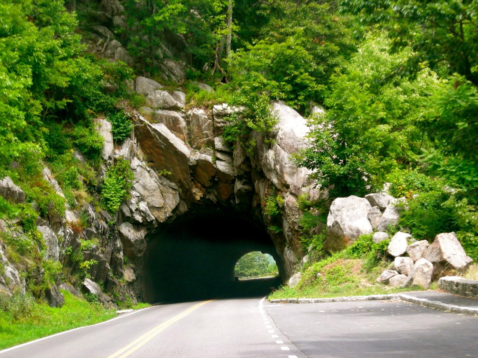 Tunnel on skyline drive, va