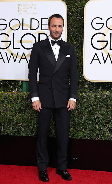 tom ford, diseñador, esmoquin, golden globes, looks red carpet