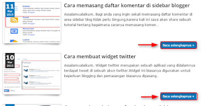 memasang auto readmore di blog tanpa javascript