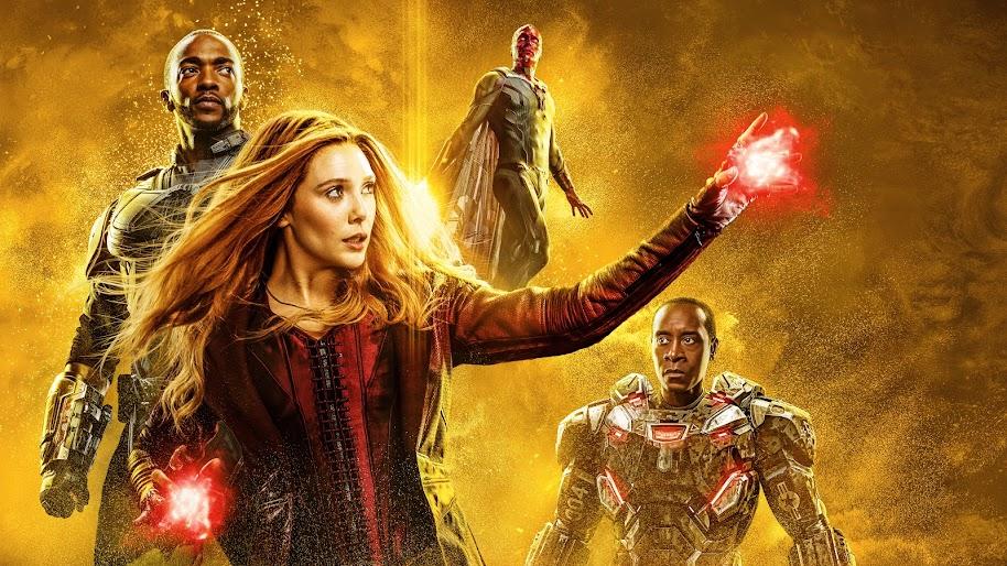 Avengers: Endgame, Scarlet Witch, Falcon, 8K, #117