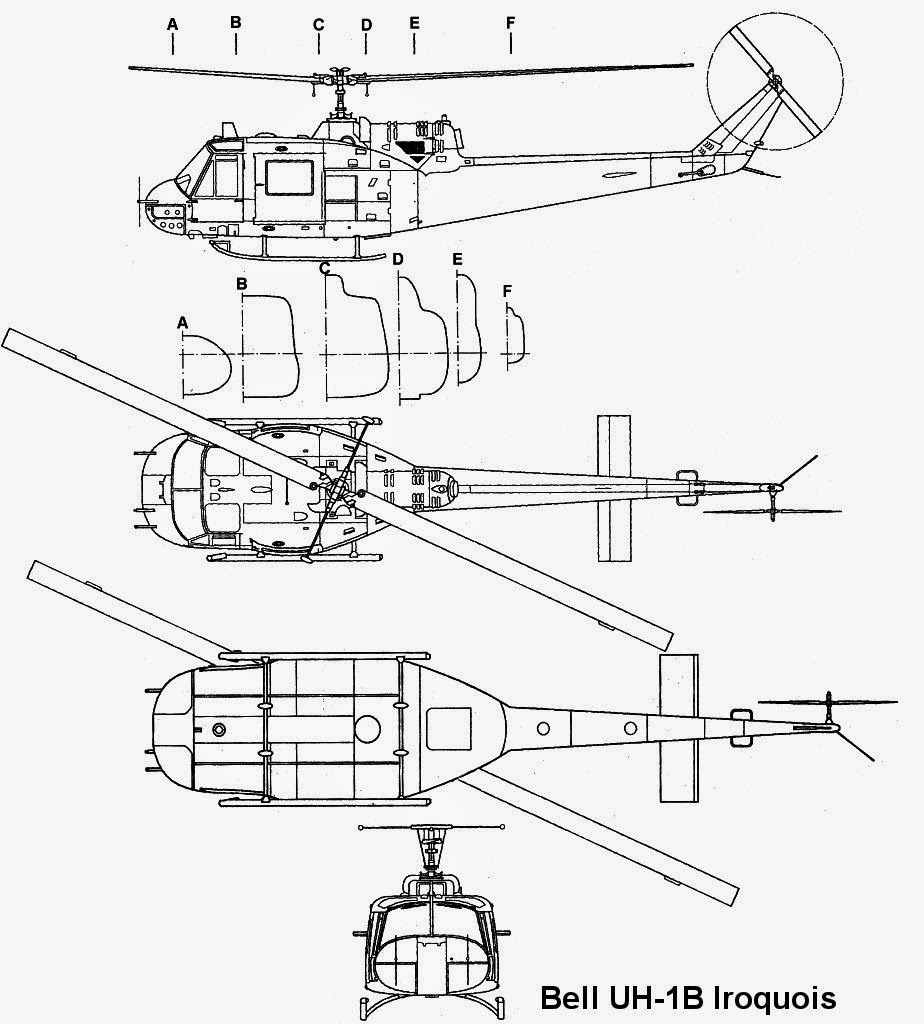 airplane scale modelkit  bell 204b