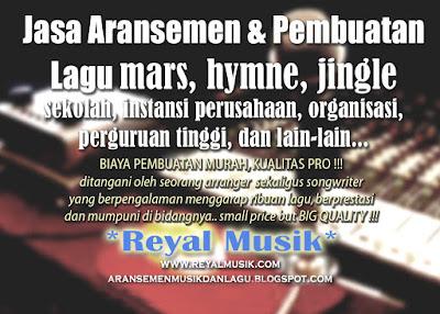 Jasa Aransemen Musik, Pembuatan Lagu & Rekaman Di Jakarta, Murah