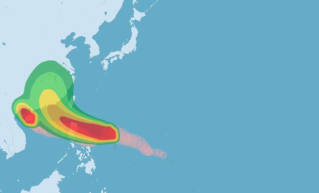 Selain Topan Sally, Hong Kong Juga Tak Luput Dari Serangan Topan Haima Beberapa Hari Kedepan Bahkan Bisa Lebih Parah