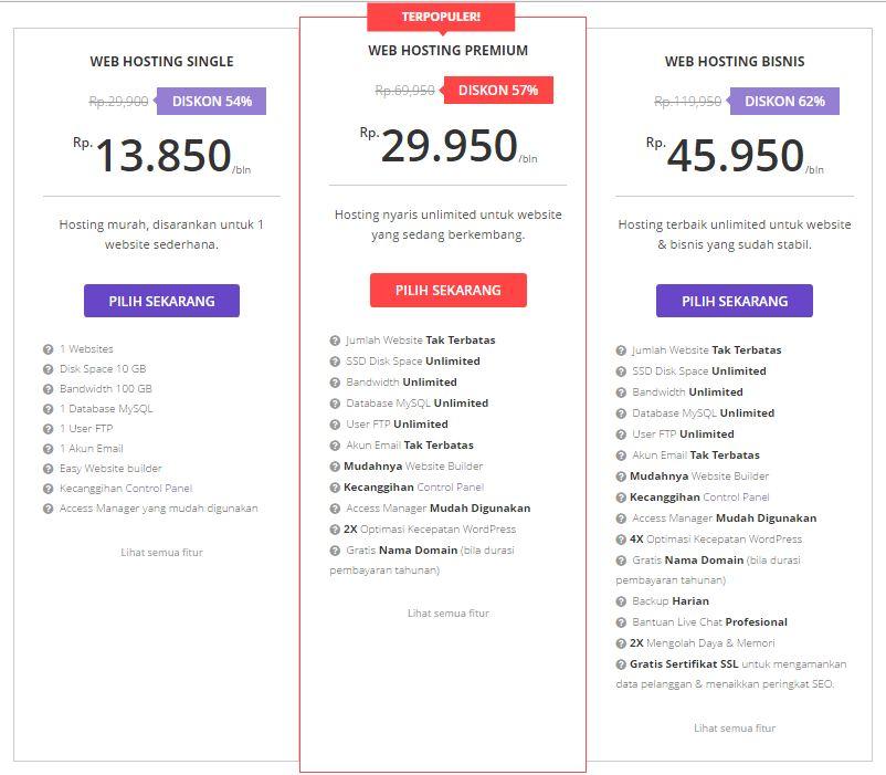 hostinger web hosting paling murah dan berkualitas indonesia