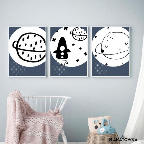 Kosmiczne Plakaty Do Pokoju Chłopca Plakatówka