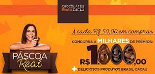 Promoção Páscoa Brasil Cacau 2019
