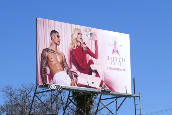 Jeffree Star Cosmetics S18 billboard