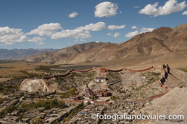 Monasterio de Gyantse Tibet
