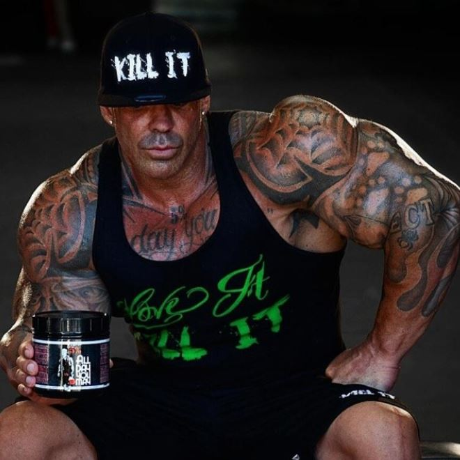 Rich Piana suplementos