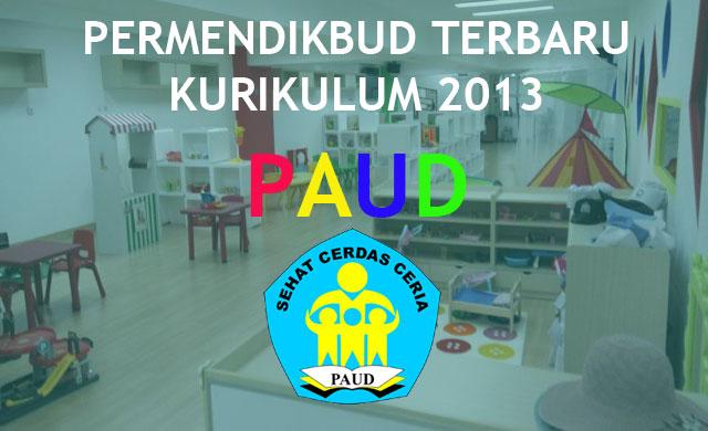 Permendikbud Kurikulum 2013 PAUD