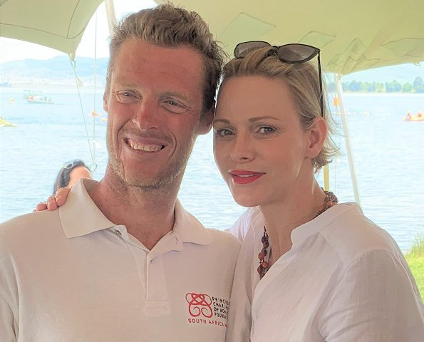 "Terence participated in the event to raise money for ""The Deaf Children's Learn to Swim and Water Safety Programme"" of The Princess Charlene of Monaco Foundation"