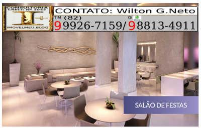 Com um amplo salão de festas para receber com conforto e categoria todos os seus convidados.