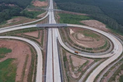 Simulation of Tangerang-Merak toll road payment system begins