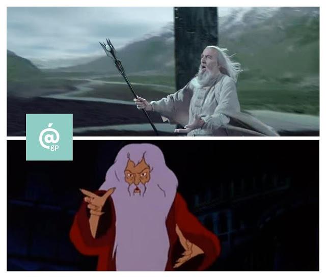 Saruman - El Señor de los Anillos: Peter Jackson Vs Ralph Bakshi - JRRTolkien - ÁlvaroGP - el fancine - el troblogdita