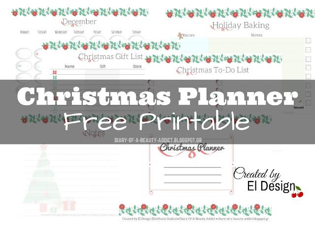 Christmas Planner | Free Printable