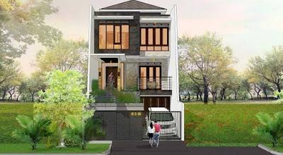 Rumah Desain 3 Lantai