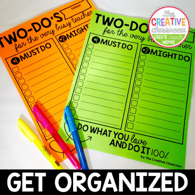 Get organized with prioritizing your tasks at home or in the classroom.