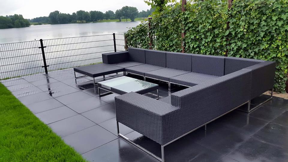 Tuin Hoekbank Lounge : Lounge hoekbank buiten loungeset top l tuinmeubelland prachtige