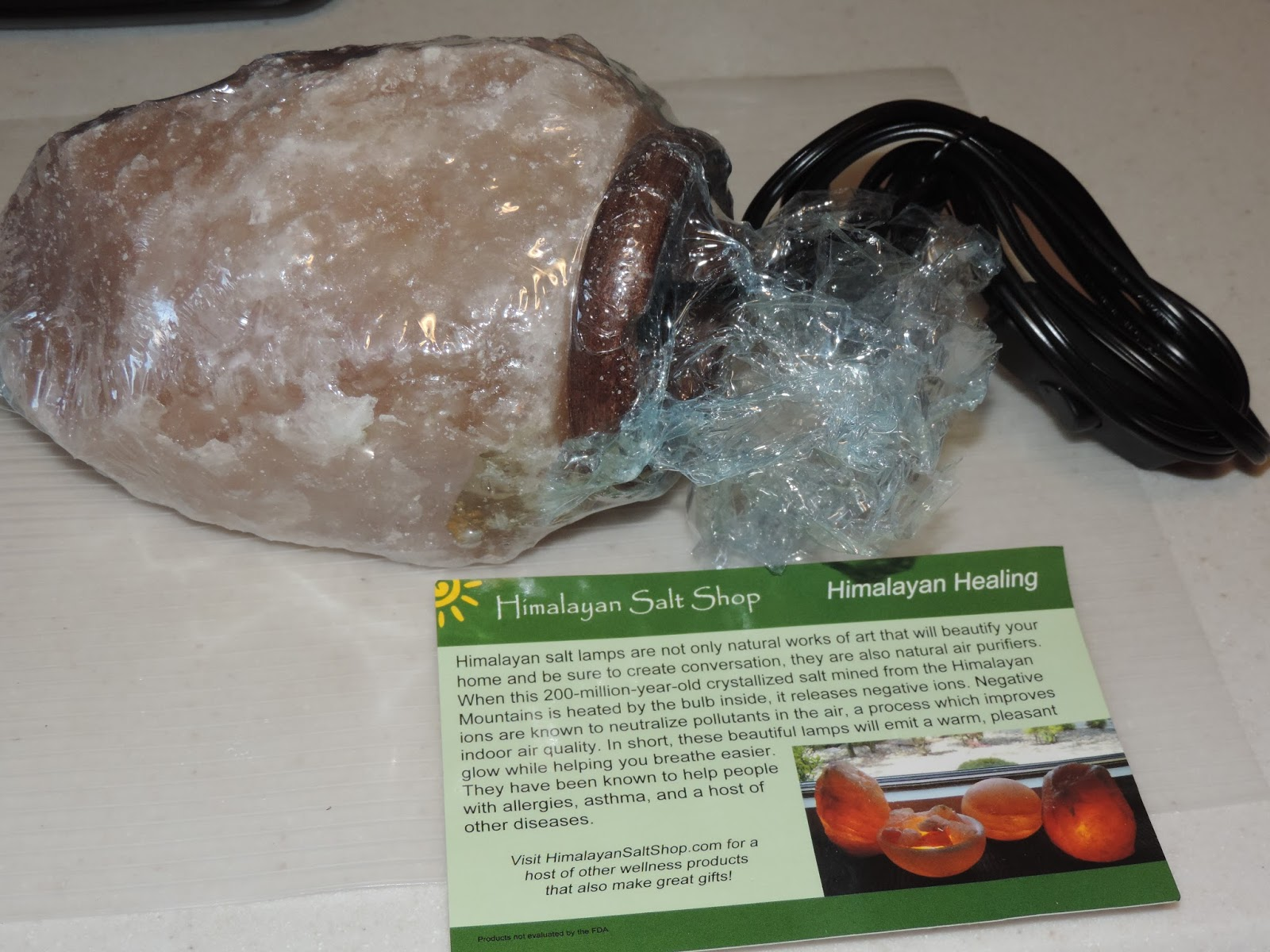 Himalayan Salt Lamps Sweating : Mail4Rosey: 20% Off #HimalayanSalt Lamp from Himalayan Salt Shop!